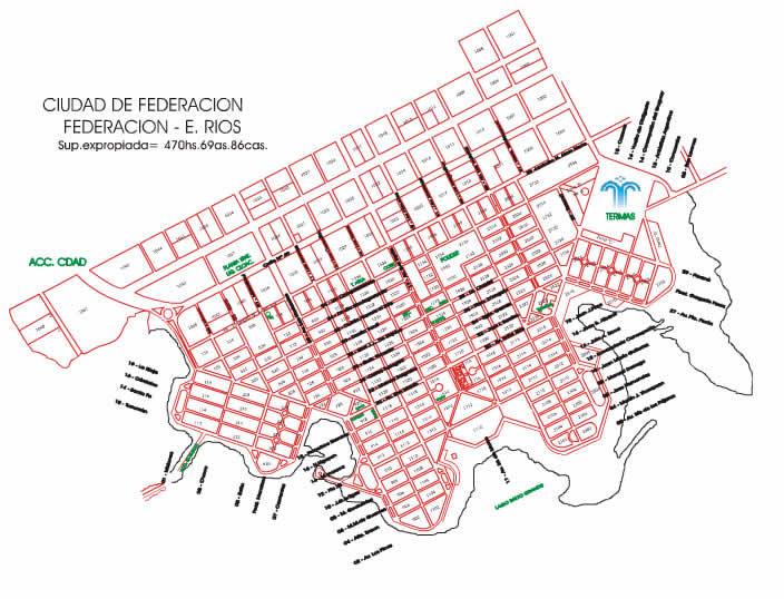 Entre r os federaci n la ciudad jard n skyscrapercity for Union de villa jardin concordia